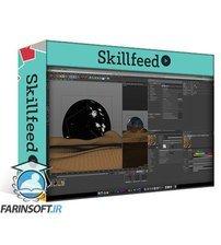 دانلود Skillshare Create an Abstract Landmark Using Cinema 4D and Photoshop