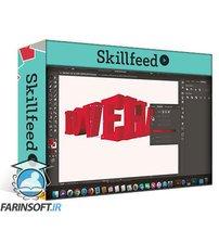 دانلود Skillshare Quick & Easy 3D Text Effect Using Adobe Illustrator