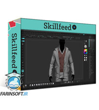 دانلود Skillshare Realistic Clothing Workflow for AAA Game Male Characters
