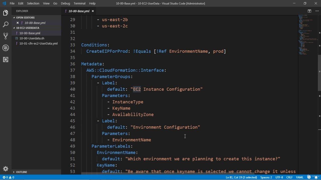 دانلود Udemy AWS CloudFormation - Simplified | Hands On with