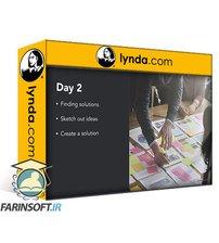دانلود lynda Execute a Design Sprint with Framer X