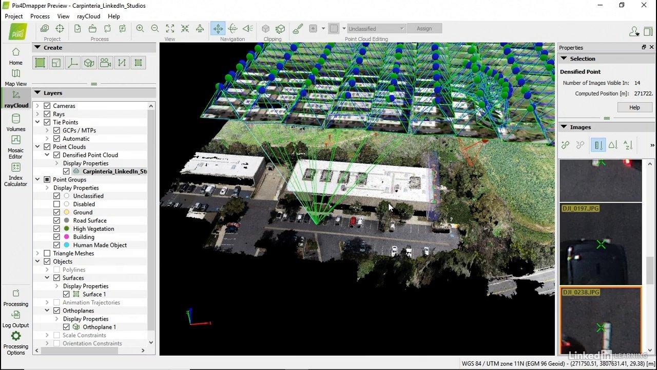 دانلود lynda Learning Pix4D Drone Mapping
