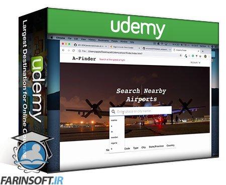 دانلود Udemy Javascript Projects for Complete Beginners