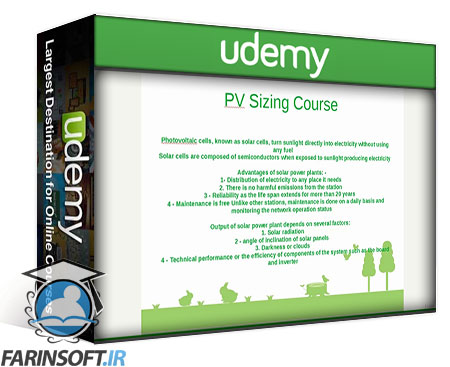 دانلود Udemy Photo Voltaic Systems Quick Guide