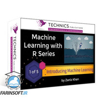 دانلود Technics Publications Machine Learning with R Series: K Nearest Neighbor (KNN), Linear Regression, and Text Mining