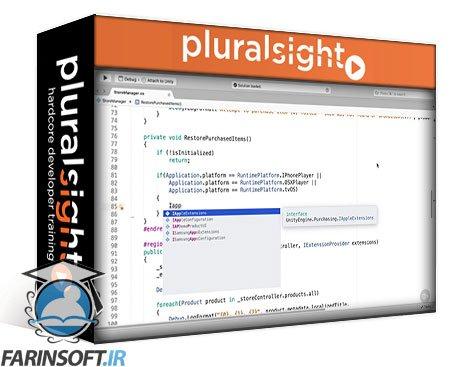 دانلود PluralSight Building Games with Unity Services: In