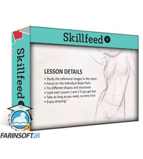 دانلود Skillshare Beginner Figure Drawing Fundamentals  – Construction of the Body Parts