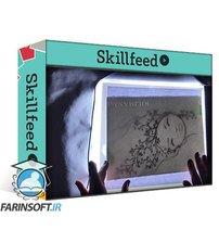 دانلود Skillshare Whimsical Faces: Almond Blossom Girl Inspired by Van Gogh