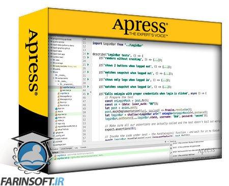 دانلود Apress Testing React.js Applications with Jest A Complete Introduction to Fast, Easy Testing