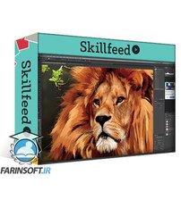 دانلود Skillshare Workshop on Multi-Media Digital Art – Create a Majestic Lion