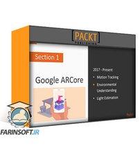 دانلود PacktPub Hands-On Augmented Reality with ARCore and Unity