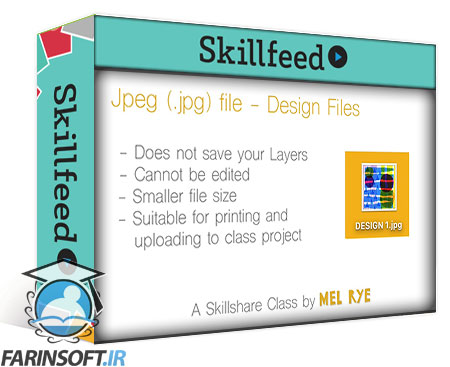دانلود Skillshare Photoshop Basics : Cut, Collage & Doodle Your Way to Amazing Print Designs