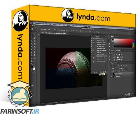 دانلود lynda Time-Saving Tips Using Photoshop