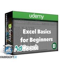 دانلود Udemy Excel Basics: Helpful Tips & Formulas for Excel