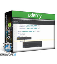 دانلود Udemy Code 100+ practical Python projects from scratch  to finish