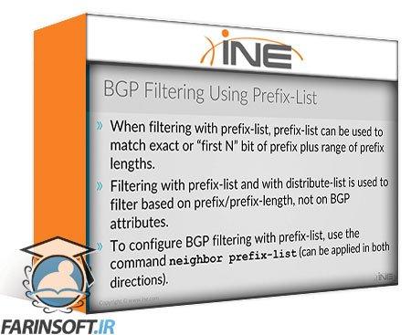 دانلود INE Intermediate BGP Course