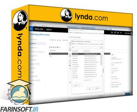 دانلود lynda Microsoft Cloud Services: Exchange Online and Security