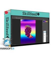 دانلود Skillshare Poster Design : Gradient Modern Style