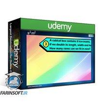 دانلود Udemy A Complete course on Surface area and Volume  Math  Geometry