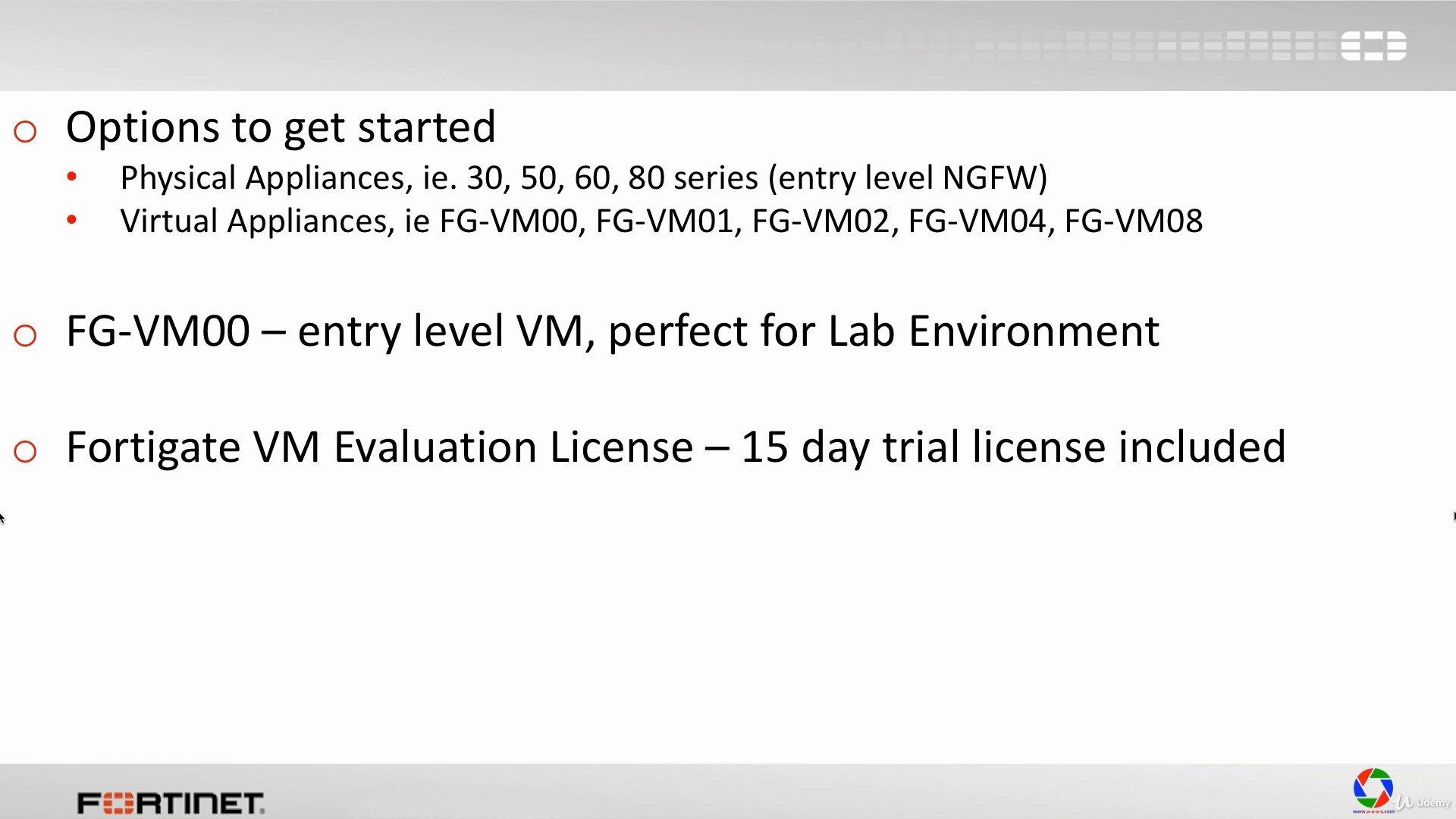 دانلود Udemy Fortinet FortiGate Firewall 4-in-1 Training Bundle Course