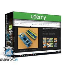دانلود Udemy Learn STM32F103C8T6 microcontroller in C with Keil uVision