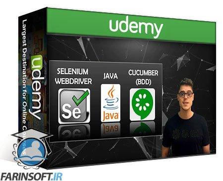 دانلود Udemy Selenium WebDriver – Java, Cucumber BDD & more. Full Course!