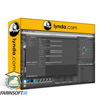 دانلود lynda Cinema 4D Essential Training: 5 Rendering and Compositing