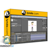 دانلود lynda Creating Animated Characters in After Effects