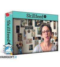 دانلود Skillshare Digital watercolor portrait in Procreate