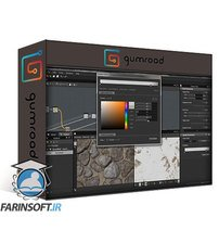 دانلود Gumroad Stone Wall Material Creation in Substance Designer