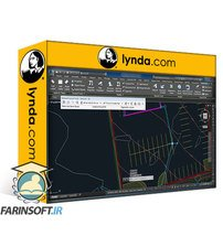 دانلود lynda AutoCAD Civil 3D: Site Design