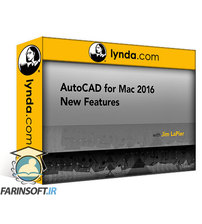 دانلود lynda AutoCAD for Mac 2016 New Features