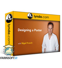 دانلود lynda Designing a Poster