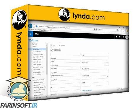 دانلود lynda Microsoft Exchange Server Essential Training: Installation and Configuration