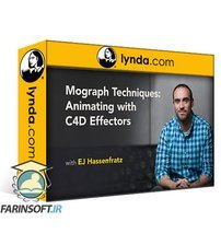 دانلود lynda Mograph Techniques: Animating with C4D Effectors