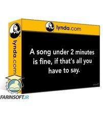 دانلود lynda One-Minute Songwriting Tips