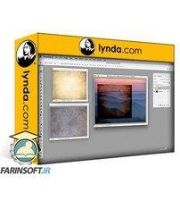دانلود lynda Photoshop: Backgrounds and Textures
