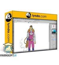 دانلود lynda Photoshop: Coloring Comic Book Characters