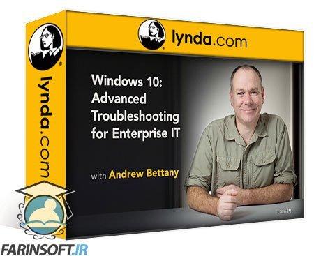 دانلود lynda Windows 10: Troubleshooting for IT Support