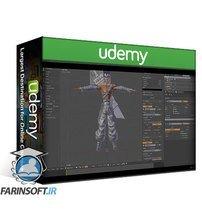 دانلود Udemy Blender Character Modeling Learn 3D modeling in Blender