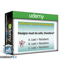 دانلود Udemy Fundamentals of Bridge Design: Concept , modeling and design