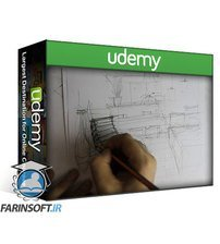 دانلود Udemy Interior Design Sketching Volume 1