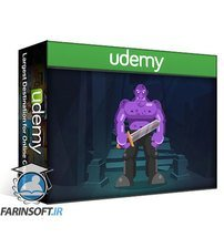 دانلود Udemy Learn Illustrator CC: Create a Simple Flat Vector Orc