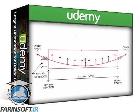 دانلود Udemy Reinforced & Prestressed Concrete for Construction Managers