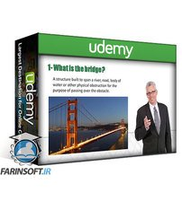 دانلود Udemy Leap bridge : AASHTO LRFD Bridge modeling & design Examples