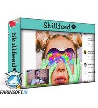 دانلود Skillshare How to create stunning colorful textures in Photoshop