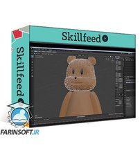 دانلود Skillshare Make your first  Cute Furry 3D Character with Blender 2.8