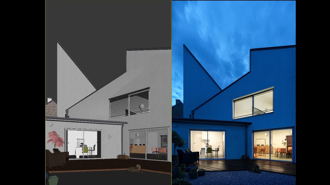 Step By Step Photorealistic Exteriors 3 Ds Max Vray