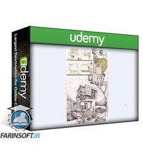 دانلود Udemy Architecture Sketching Volume 1 and 2