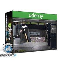 دانلود Udemy Photoshop Composites The Subway in the Wilderness